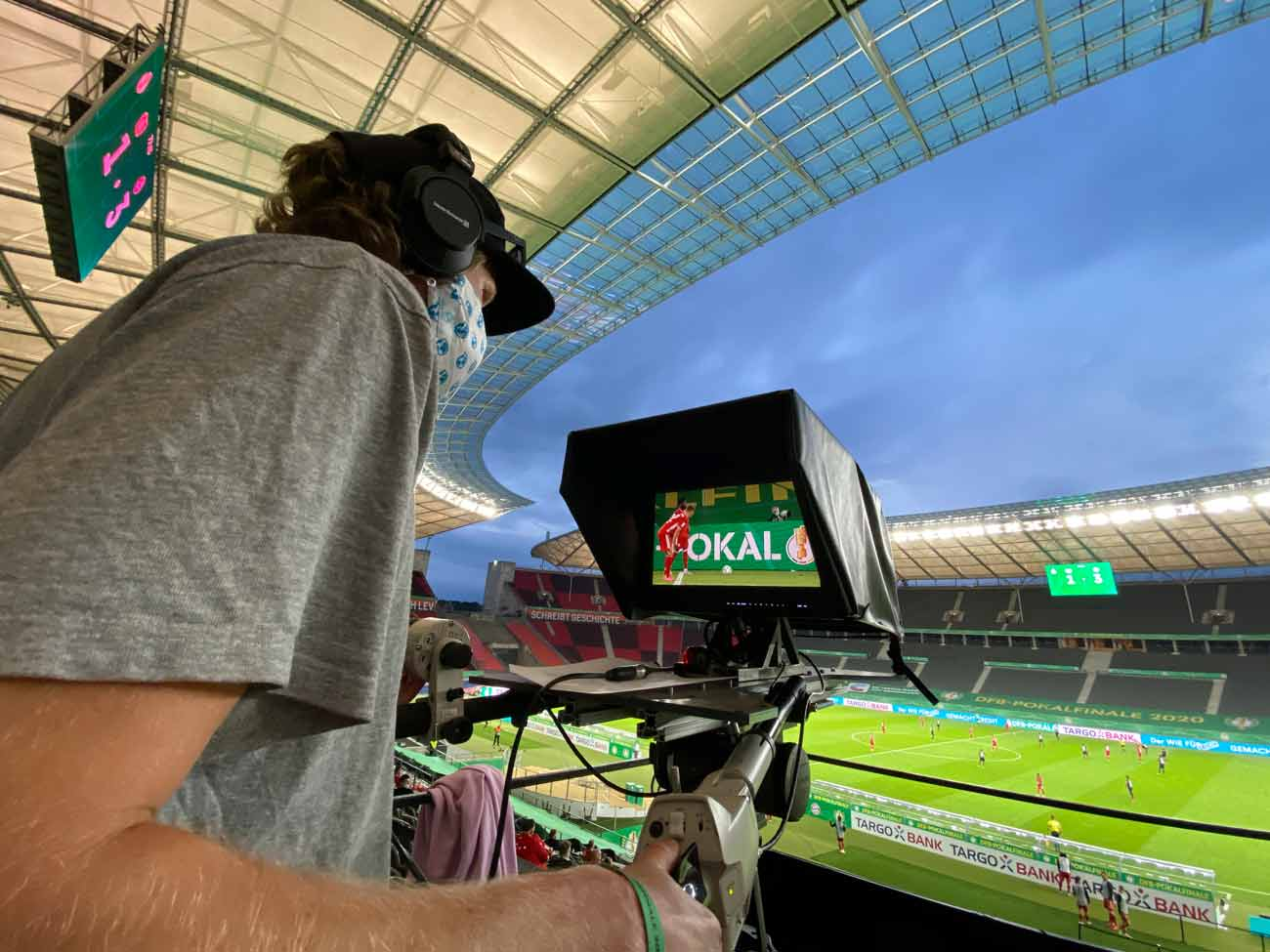 New Remote Head RH2W Debut at German Cup Final
